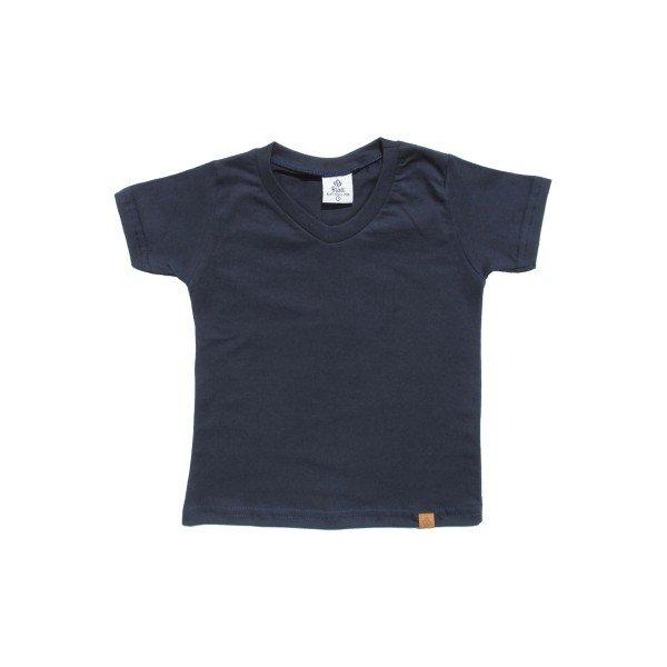 b1be7bcfb Camiseta Manga Curta Básica Infantil Menino Marinho - Blatt ...