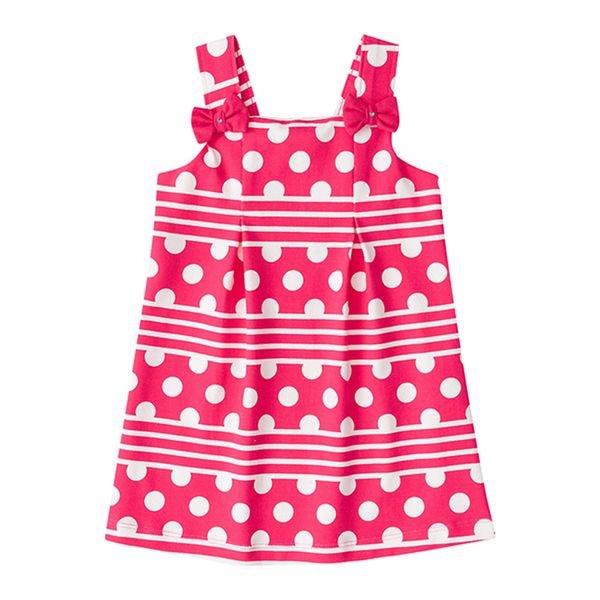 bf06a9a6af Vestido Infantil Menina Rosa - Brandili. MODELO  BR33116-ROSA