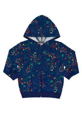 jaqueta infantil menina alakazoo marinho 60891 2