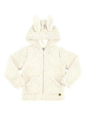 jaqueta infantil menina alakazoo offwhite 60940