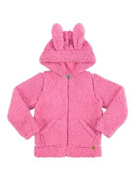jaqueta infantil menina alakazoo rosa 60940