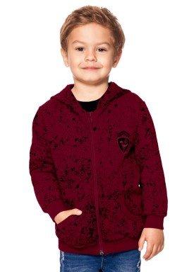 jaqueta moletom infantil menino alakazoo bordo 60787 1