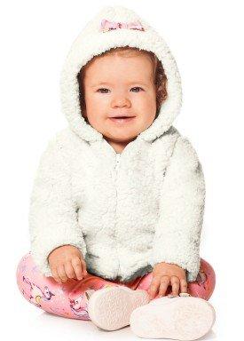 conjunto jaqueta bebe menina offwhite alakazoo 60858 1
