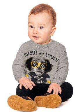 conjunto moletom bebe menino mescla alakazoo 60751 1