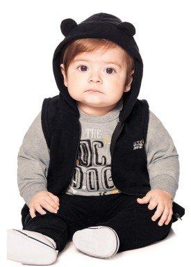 conjunto moletom bebe menino preto alakazoo 60750 1