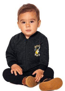 conjunto moletom bebe menino preto alakazoo 60752 1