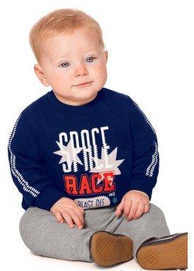 conjunto moletom bebe menino marinho alakazoo 60757 2