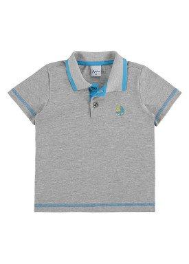 camisa polo infantil menino mescla alenice 44194