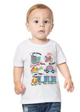 camiseta bebe menino branco alenice 40876 1