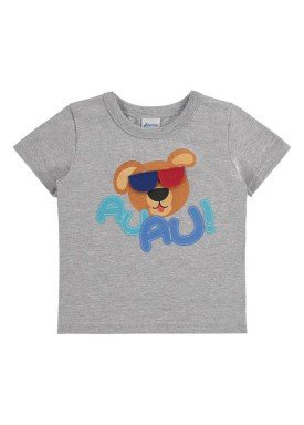 camiseta bebe menino mescla alenice 40883 2