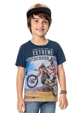 camiseta infantil menino cinza alenice 46878 2