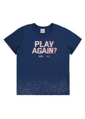 camiseta infantil menino marinho alenice 44191 1