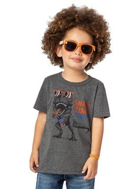 camiseta infantil menino mescla alenice 44181 2