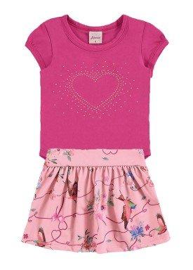 conjunto body bebe menina pink alenice 40917 1