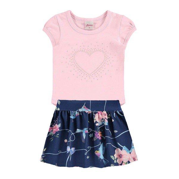 conjunto body bebe menina rosa alenice 40917 1