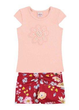 conjunto infantil menina rosa alenice 44232 1
