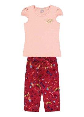 conjunto infantil menina rosa alenice 46923 1