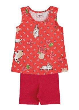 conjunto infantil menina vermelho alenice 40905 1