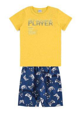 conjunto infantil menino amarelo alenice 46874 1