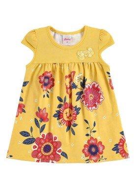 vestido bebe menina amarelo alenice 40912 1