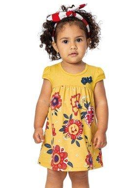vestido bebe menina amarelo alenice 40912 2