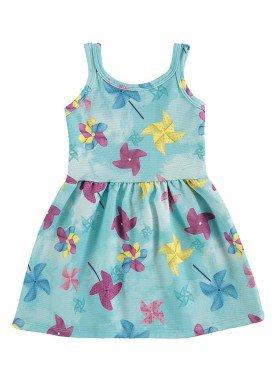 vestido bebe menina azul alenice 40909 1