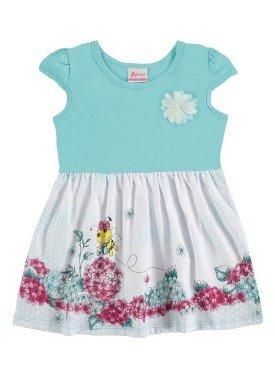 vestido bebe menina azul alenice 40911 1