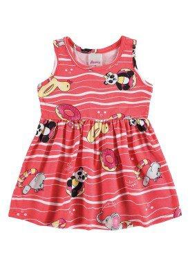 vestido bebe menina laranja alenice 40900