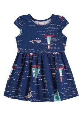 vestido bebe menina marinho alenice 40901 1