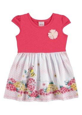 vestido bebe menina pink alenice 40911 1