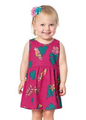 vestido bebe menina rosa alenice 40900 1
