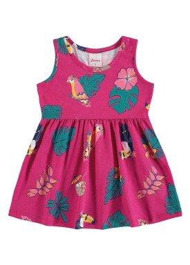 vestido bebe menina rosa alenice 40900 2