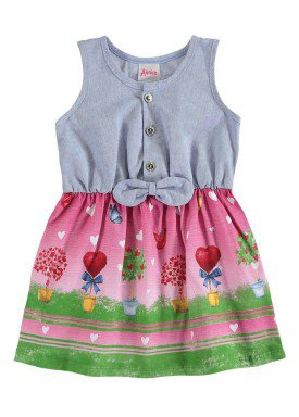 vestido bebe menina rosa alenice 40910 1