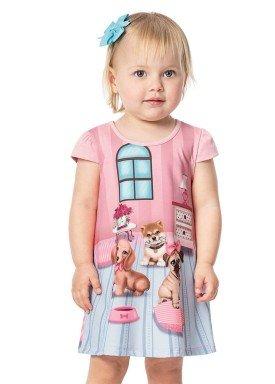 vestido bebe menina rosa alenice 40913 1