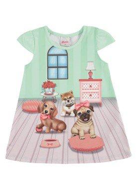 vestido bebe menina verde alenice 40913 1