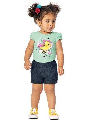 vestido bebe menina verde alenice 40915 4