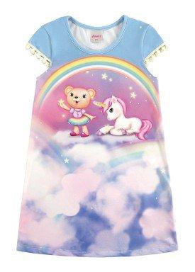 vestido infantil menina azul alenice 44223 1