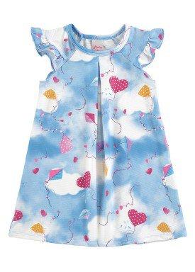 vestido infantil menina azul alenice 44224 1