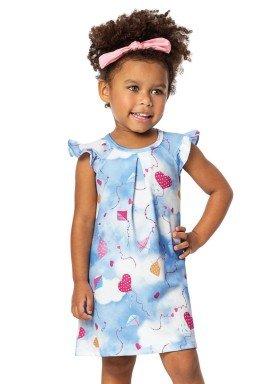 vestido infantil menina azul alenice 44224 2