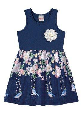 vestido infantil menina marinho alenice 44225 1
