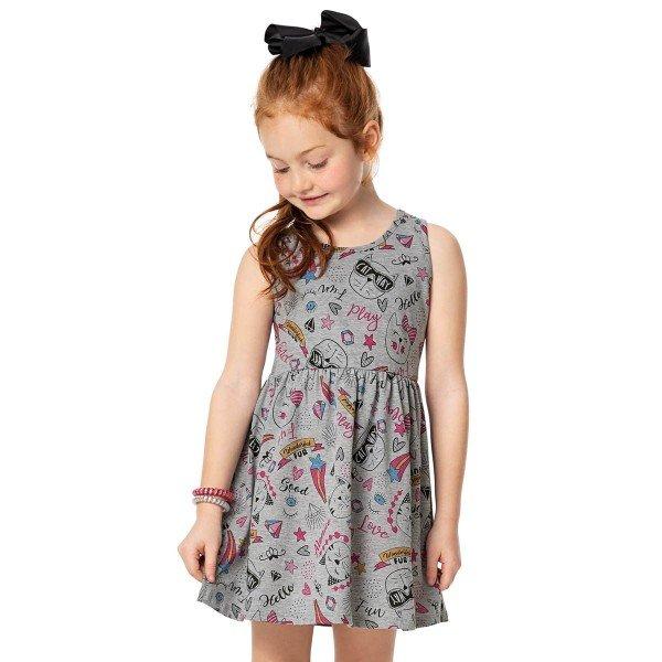 vestido infantil menina mescla alenice 46904 2