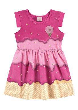 vestido infantil menina rosa alenice 44222 1