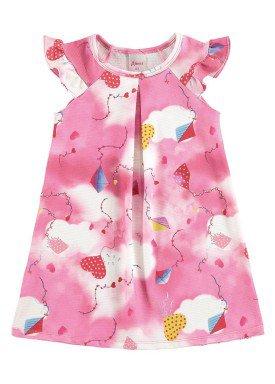 vestido infantil menina rosa alenice 44224
