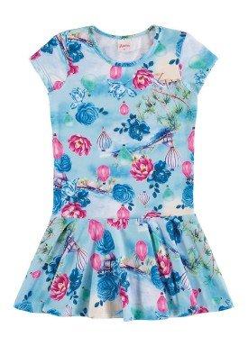 vestido infantil menina azul alenice 46925 1