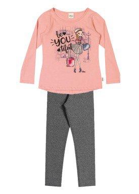 conjunto manga longa infantil menina beyoutiful rosa elian 251290 1