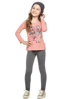 conjunto manga longa infantil menina beyoutiful rosa elian 251290 4