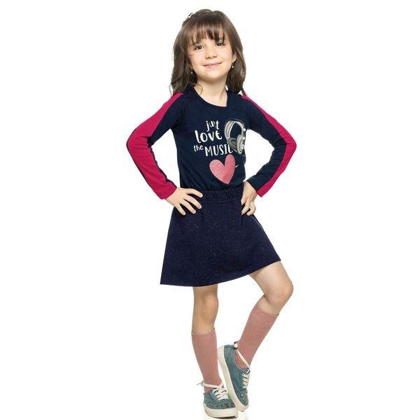 conjunto manga longa infantil menina music marinho elian 251280 4
