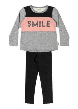 conjunto moletom infantil menina smile mescla elian 251295 1