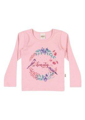 blusa manga longa infantil menina beauty rosa elian 231307 1