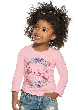 blusa manga longa infantil menina beauty rosa elian 231307 2